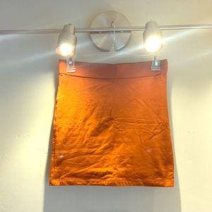 Simple cotton pencil skirt